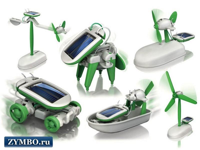 Конструктор на солнечной батарее