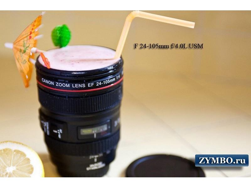 Кружка-объектив Canon