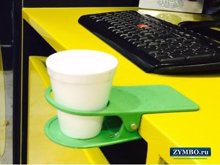 Подставка-прищепка под чашку