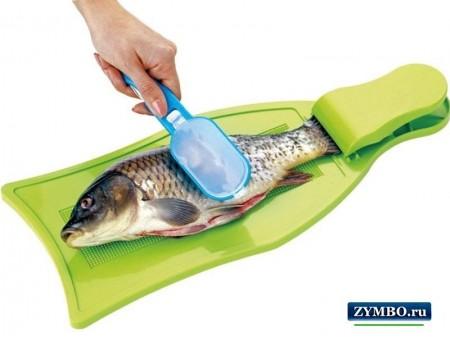 Рыбочистка с контейнером