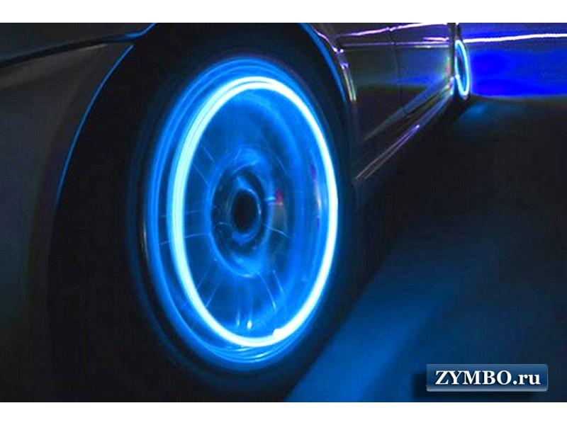 Светящиеся колпачки на колеса