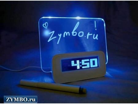 Часы с доской для записей Highstar