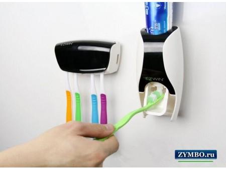 Дозатор для зубной пасты (с держателем)