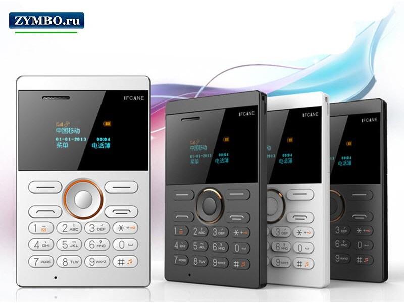 Телефон-кредитка iFcane E1