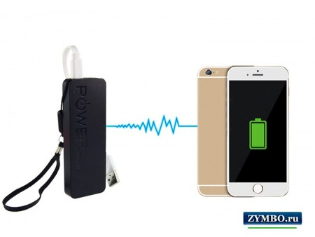 Power bank (портативное зарядное устройство) 2600 mAh