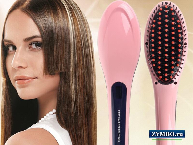 Выпрямитель-расческа Fast Hair Straightener