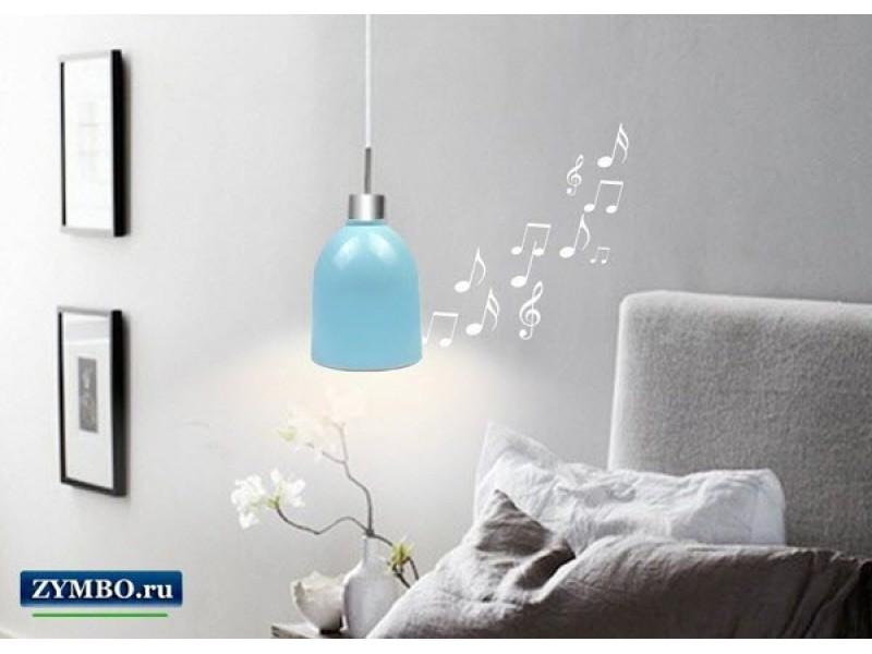 Лампа с колонкой