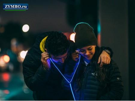 Светящиеся наушники Glow