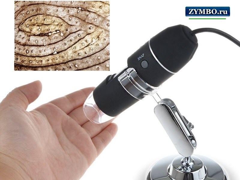 Электронный цифровой микроскоп 1000х