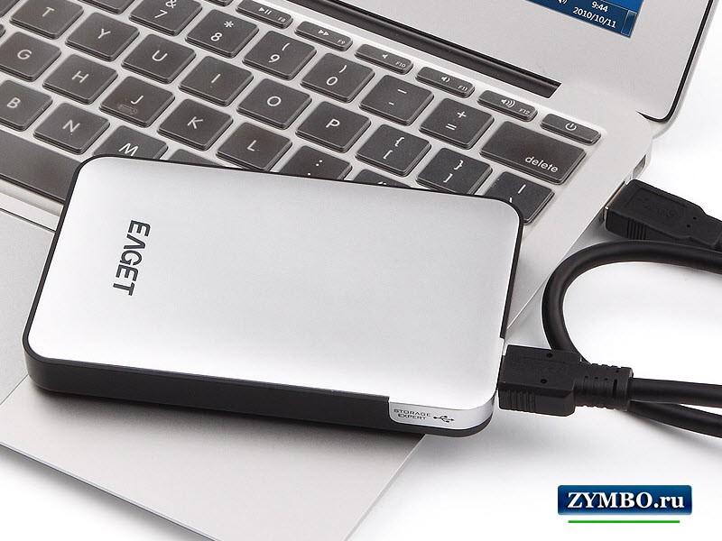 Внешний жесткий диск  1 тб Eaget G30 (SSD)
