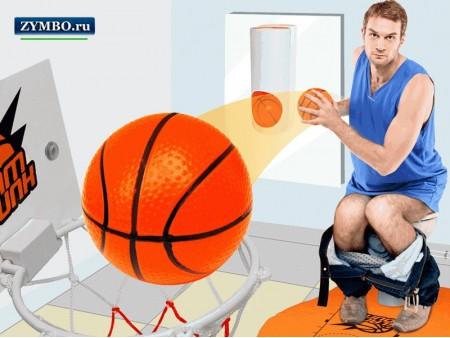 Мини баскетбол для туалета