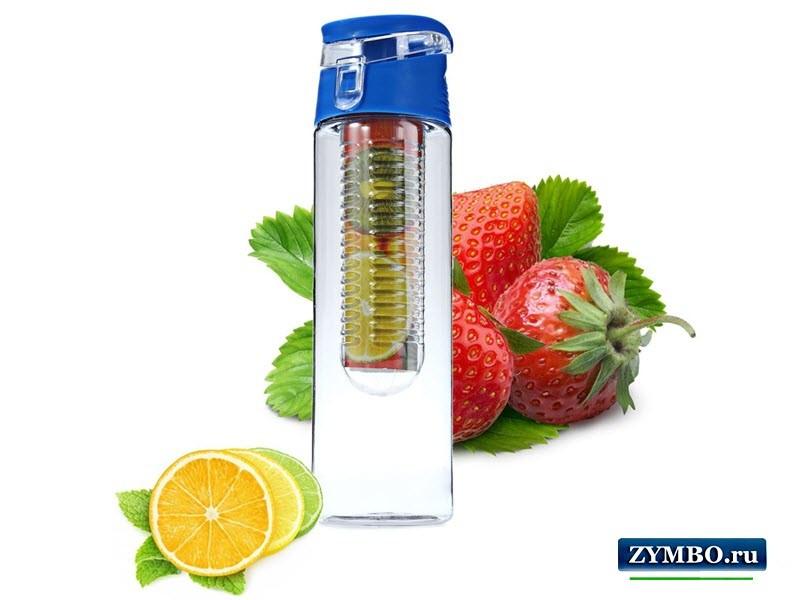 Бутылочка с емкостью для фруктов