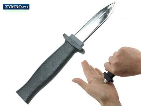 Телескопический нож для фокусов