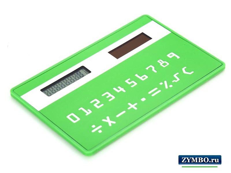 Калькулятор-кредитка
