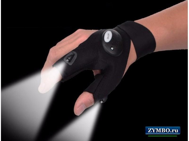 Светящиеся перчатки Glovelite