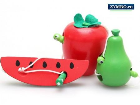 Шнуровка-игрушка для детей