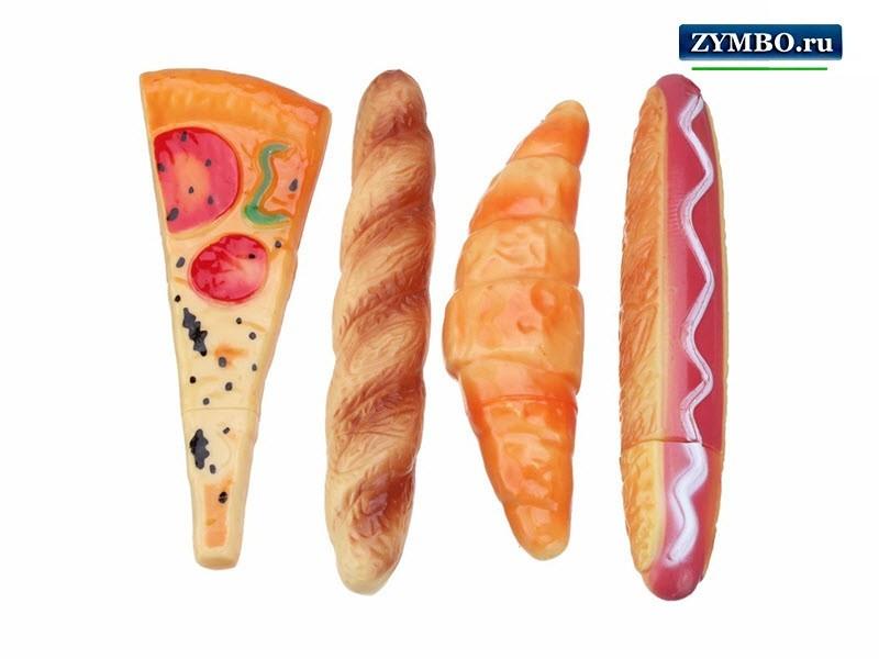 "Ручка ""Пицца"", ""Хлеб"""