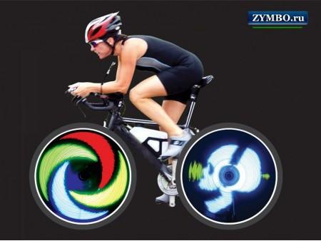 Программируемая подсветка для велосипеда