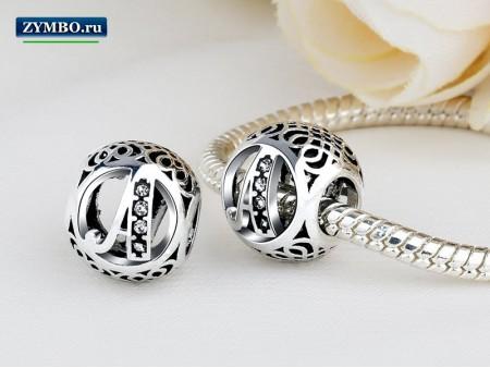 Серебряные шармы Пандора