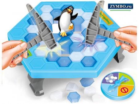 """Игра """"Не урони пингвина"""" Penguin Trap"""