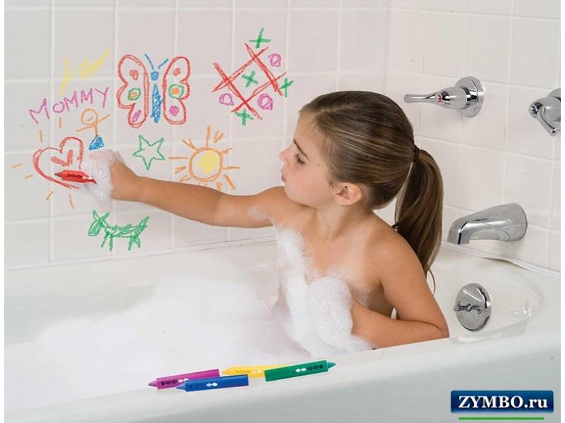 Карандаши для рисования в ванной