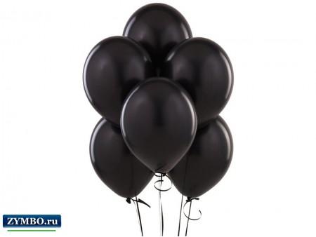 Черные воздушные шары