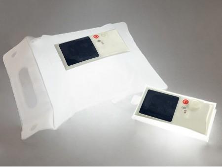 Надувной фонарь на солнечной батарее