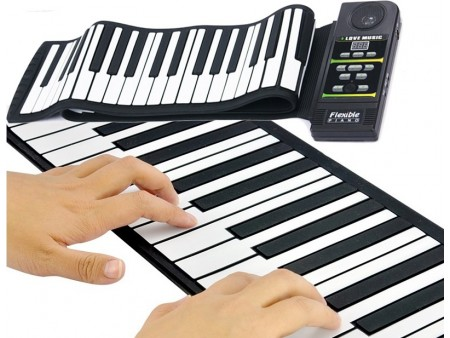 Гибкое пианино (88 клавиш)