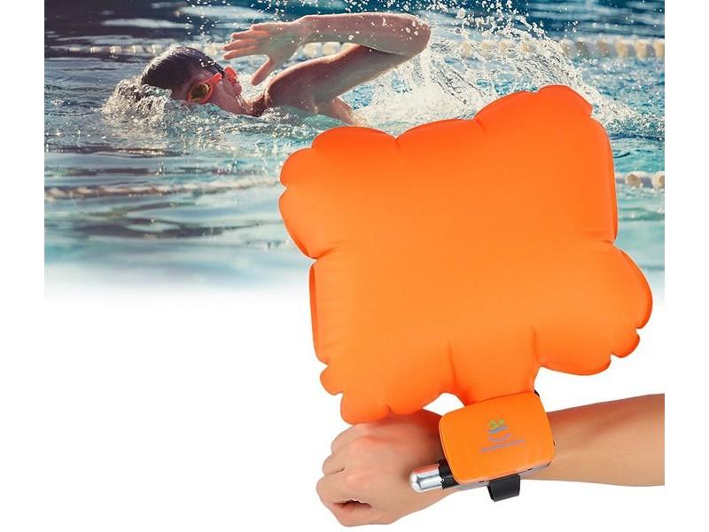 Спасательный браслет для плавания на руку
