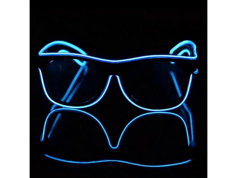 Светящиеся светодиодные неоновые очки для вечеринок