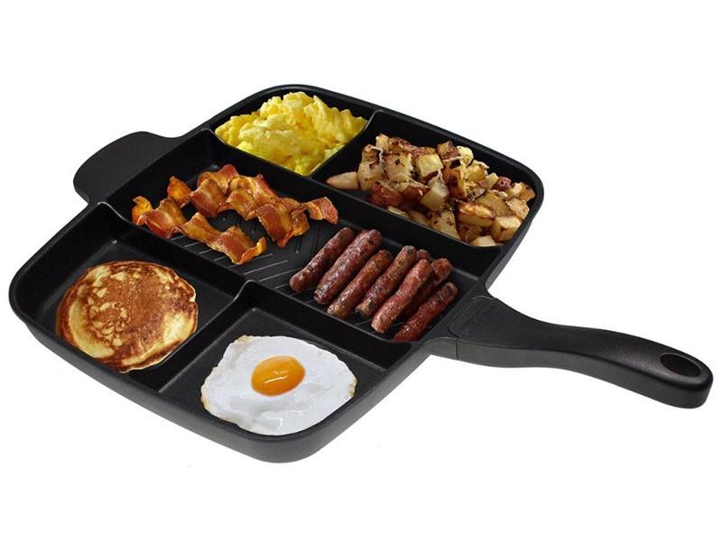 Сковорода с отделениями 5 в 1