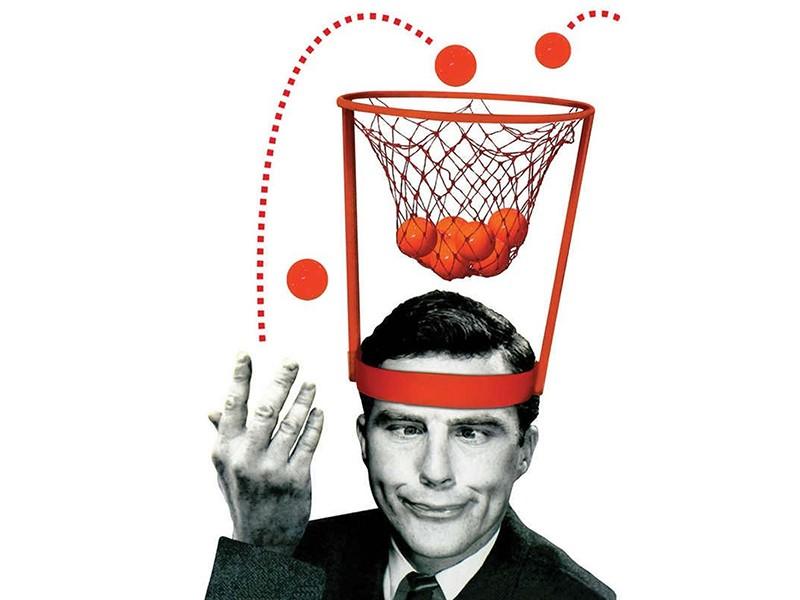 "Игра ""Баскетбол на голове"""