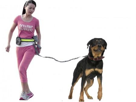 Пояс-поводок для бега с собакой