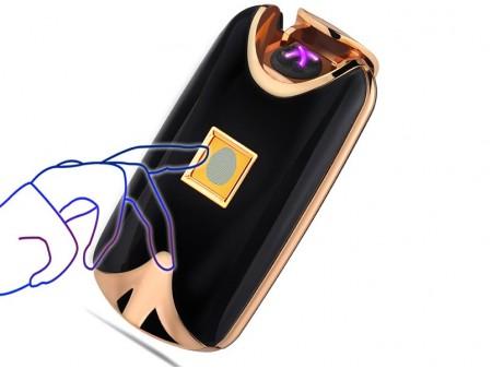 USB зажигалка с отпечатком пальца