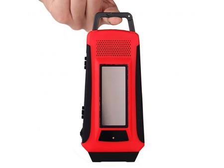 Ручной динамо фонарь с радио