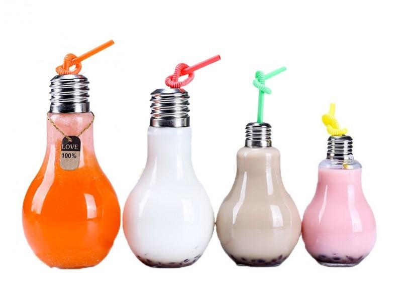 Бутылка-лампочка
