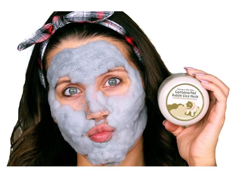 Bubble mask. Пузырьковая маска для лица