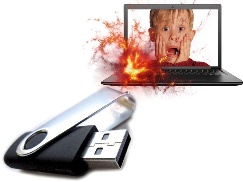 USB killer (флешка-убийца)