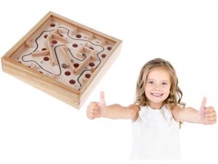 Деревянный лабиринт для детей