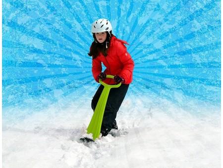 Снежный самокат (снегосамокат)