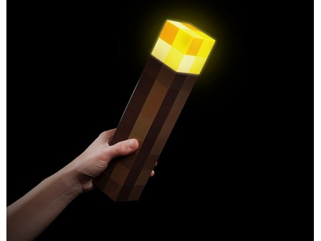 Факел Майнкрафт (Minecraft Light up torch)