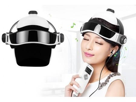 Массажный шлем для головы