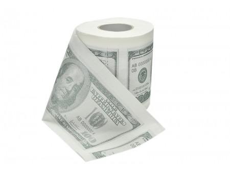 """Туалетная бумага """"Доллары"""""""