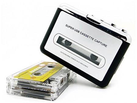Плеер-конвертер для оцифровки аудиокассет
